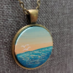 Beach Sunrise Necklace - Only 1 Available