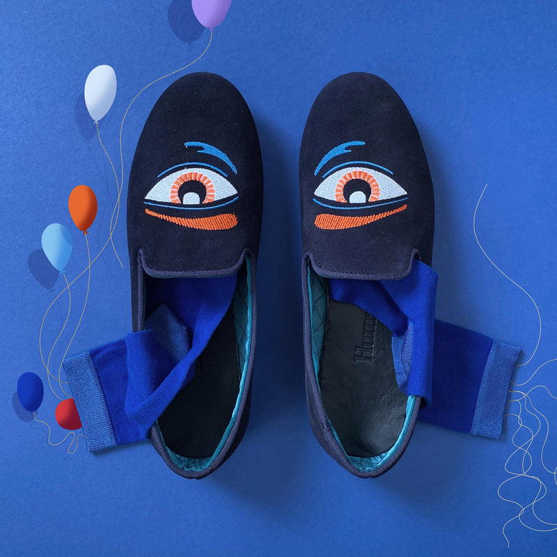 Hums Eye Talisman Loafer - Hums Slippers