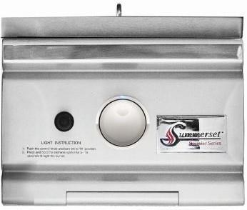 Summerset Grills Side Burner Propane TRL Sear with LED Illumination Built in  TRLSS-LP
