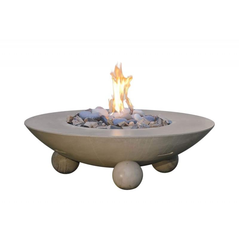 American Fyre Designs Versailles Chat Height FireTable 744-XX-11-V6XC