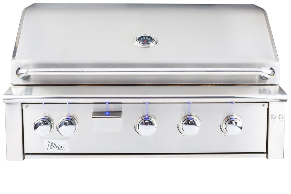 "Summerset Grills Alturi Grill 42"" Natural Gas Built in with Red Brass Main Burners ALT42R-NG"