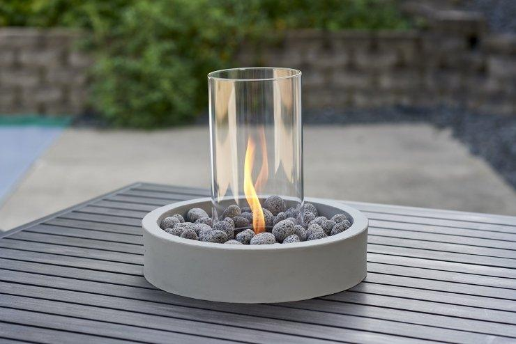 Outdoor Greatroom Company CV-INT-K Cove Intrigue Table Top Outdoor Lantern
