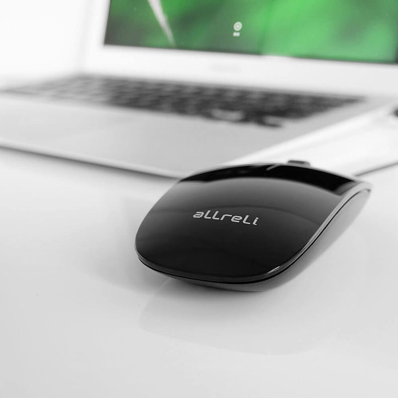 aLLreLi USB Optical Mouse for Mac
