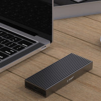 TDBT SuperC PCIe NVMe M.2 to USB C Aluminum SSD External Enclosure supports MacBook Pro/MacBook Air/iMac Pro/iMac/Mac Pro/iPad Pro