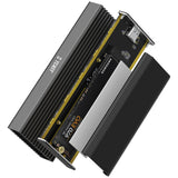 TDBT SuperC PCIe NVMe M.2 to USB C Aluminum SSD External Enclosure cooling system