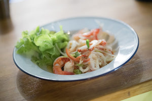 Glass Noodle With Sea Food Spicy Salad ยำวุ้นเส้นทะเล