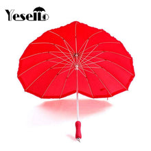 Load image into Gallery viewer, Cheap fashionable Red Heart Umbrella. The best that you can have.  Buy it best offer