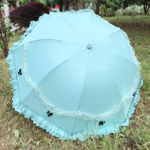 The beauty sun and rain umbrella