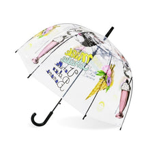 Load image into Gallery viewer, The Cute Cartoon Transparent Umbrella