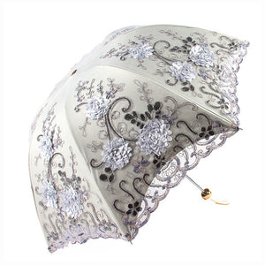 The Fashion luxurious Flower Umbrella