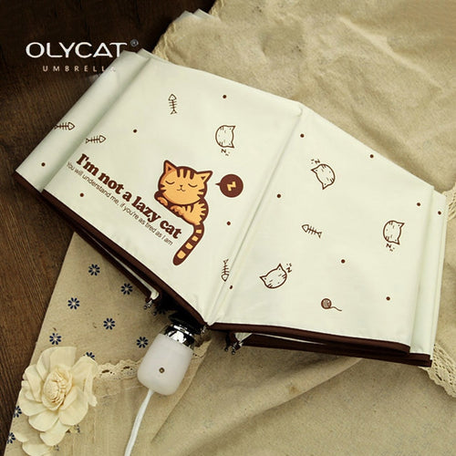 The Olycat Lovely Cat Style Umbrella