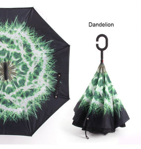 The fashion innovated reversed umbrella