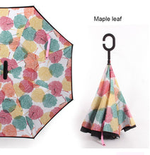 Load image into Gallery viewer, The fashion innovated reversed umbrella