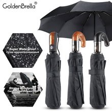 Load image into Gallery viewer, The automatic gentlemen classic umbrella