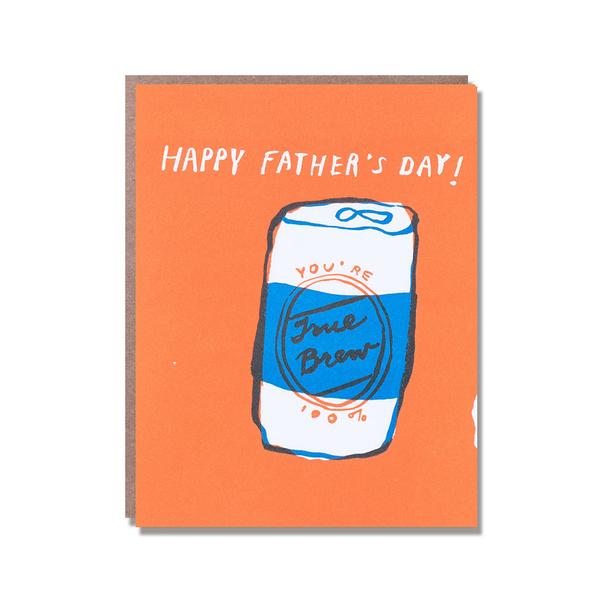 True Brew Dad Card