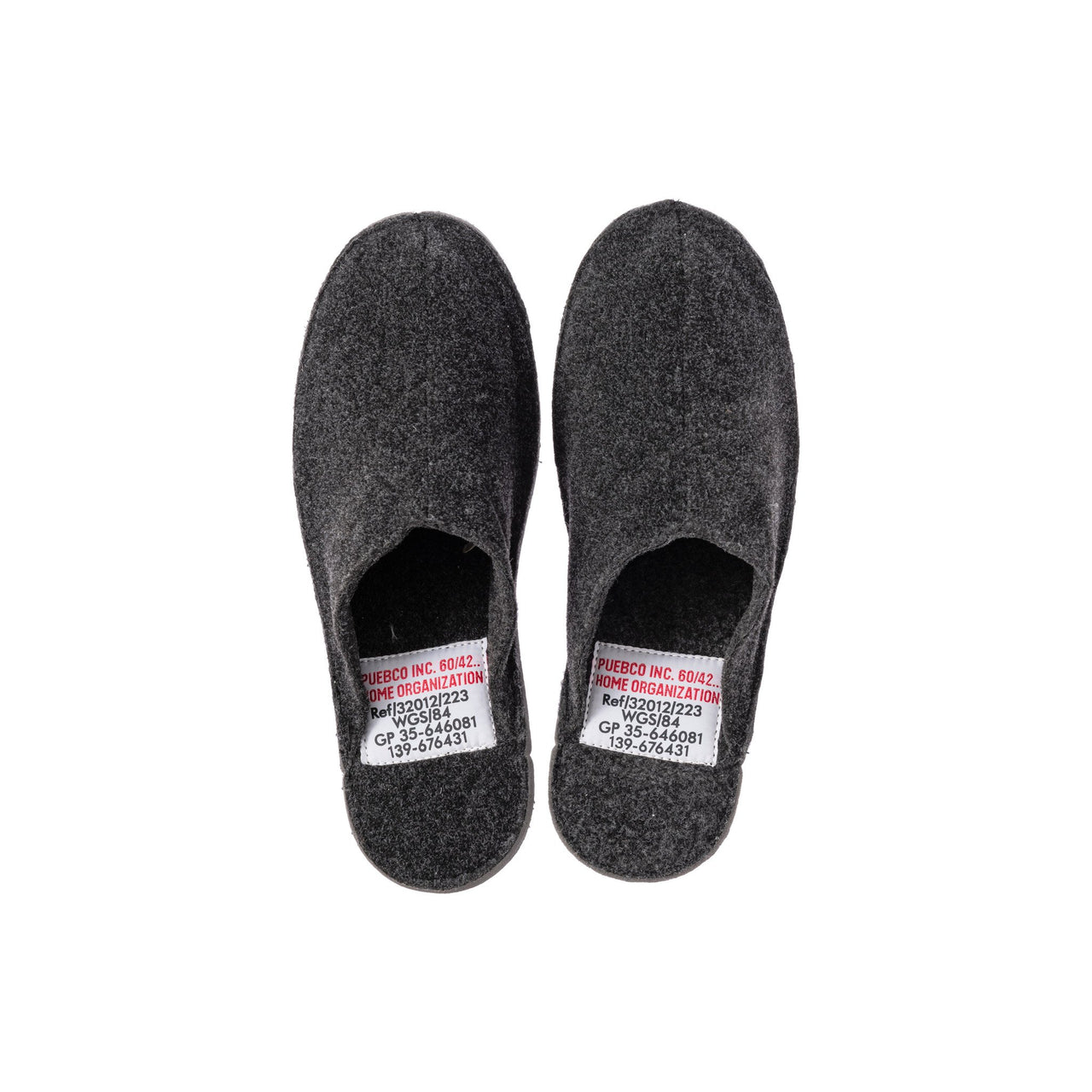 Slippers - Large/Dark Gray