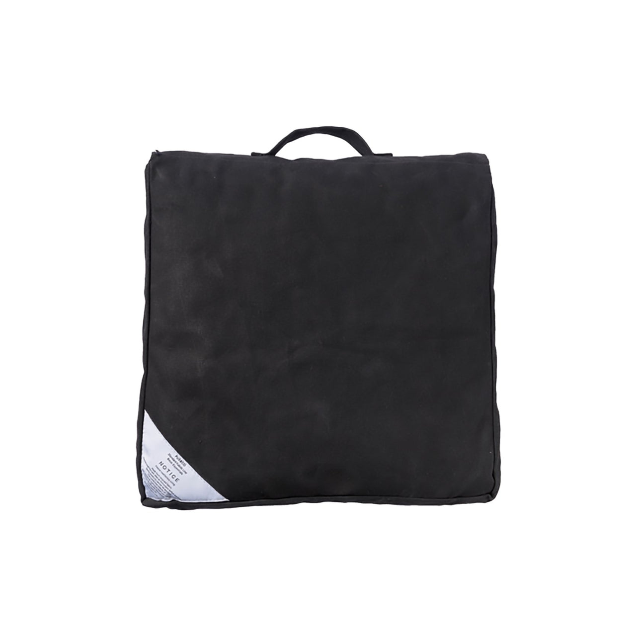 Block Cushion - Black