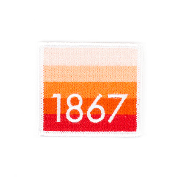 Iron on Patch - 1867