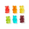 Rainbow Bears Mini Bag