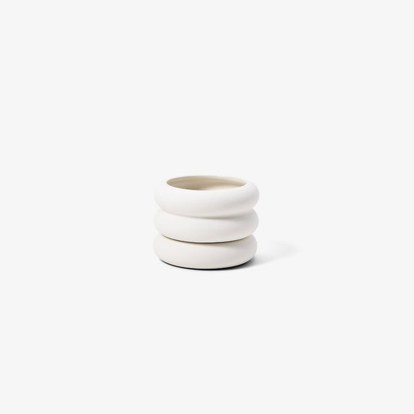 Stacking Planter - Mini Short White