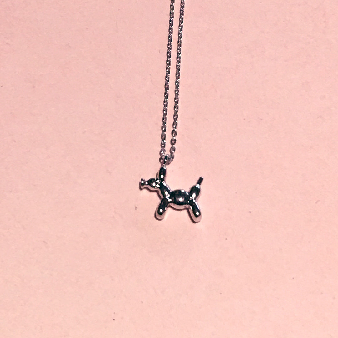 Balloon Puppy Necklace