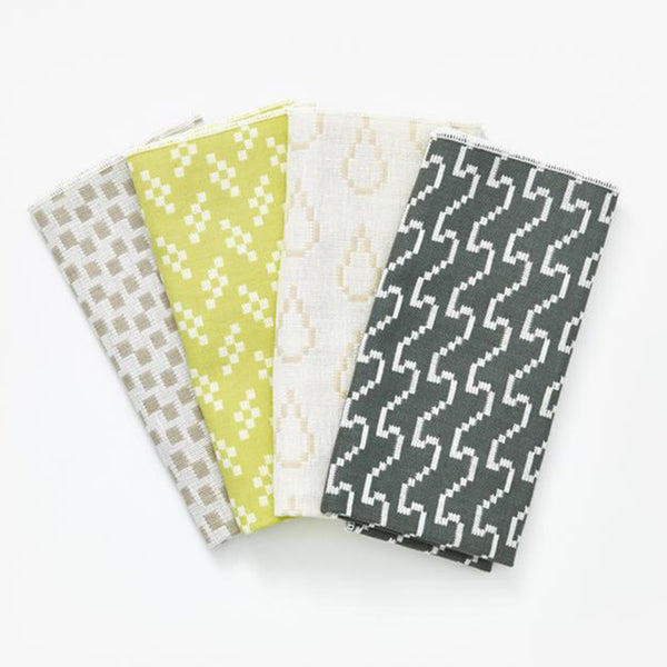 Bitmap Napkins (set of 4) - Colours