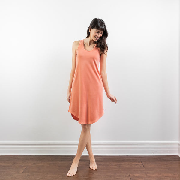 Intuition Dress - Coral