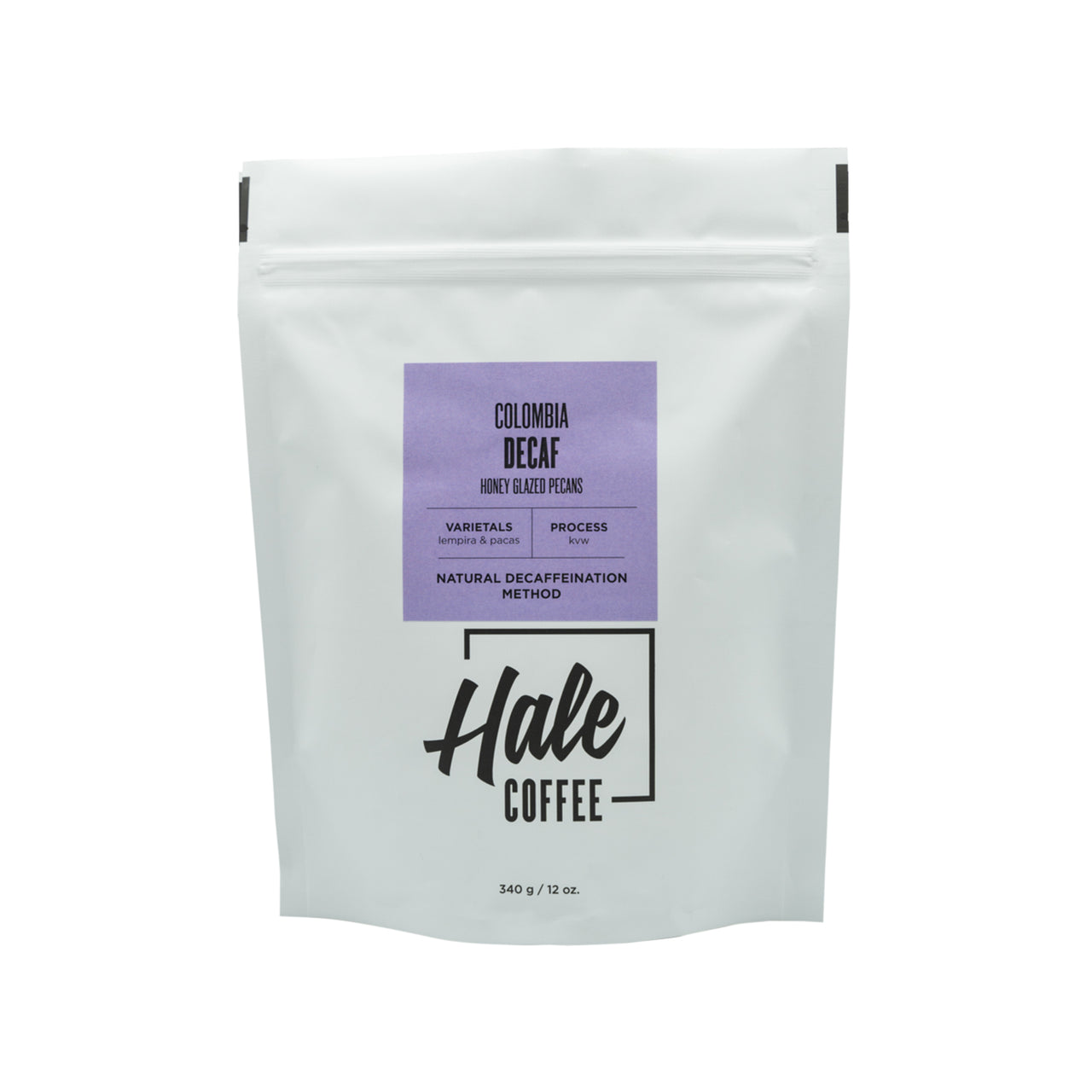 Hale Coffee - Colombia Decaf (3/4 lbs)