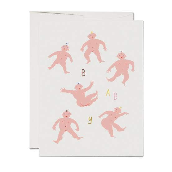 Little Humans Baby Card