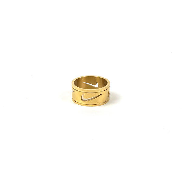 Gold Nike Triple Ring