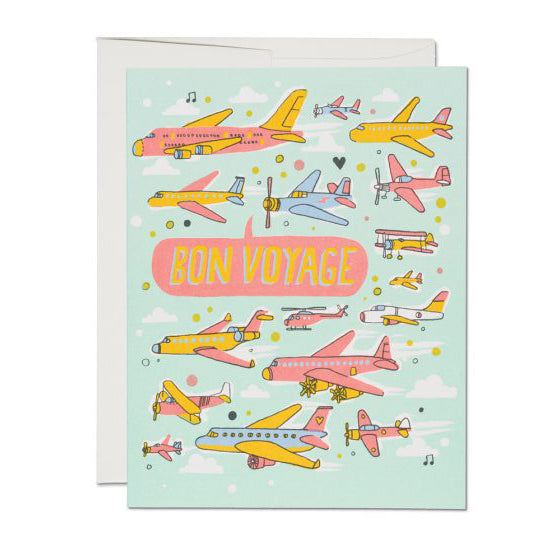 Airplanes Card