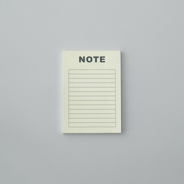 Note Pad - Light Yellow