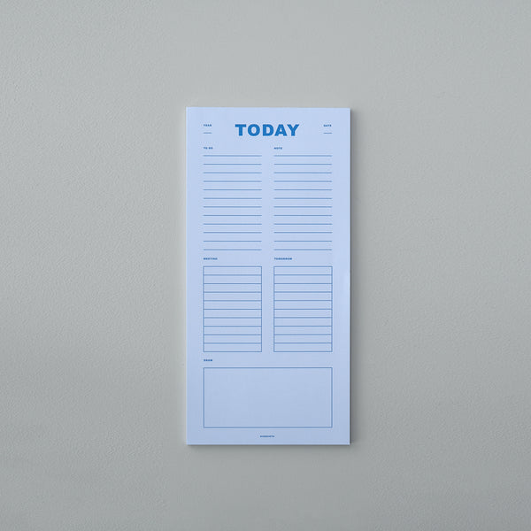 Today Planner - Light Blue