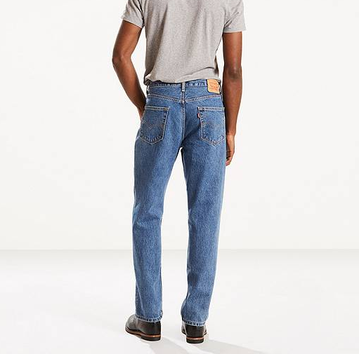 550 Relaxed Fit - Medium Stonewash