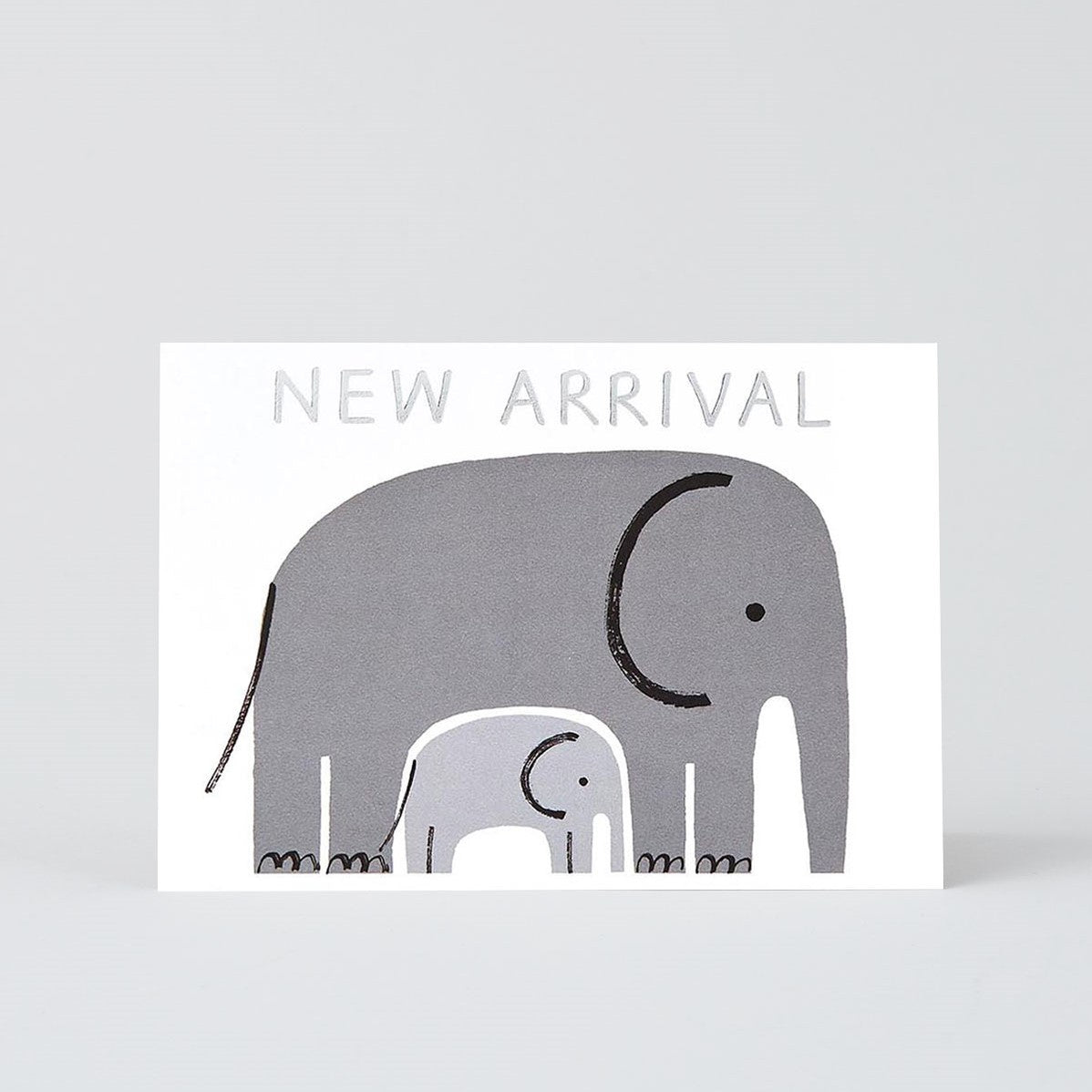 New Arrival Elephant Card