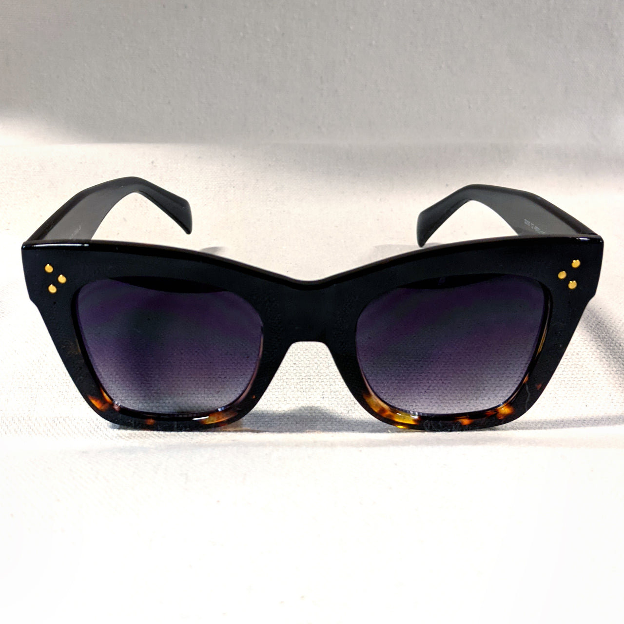 Oversized Tortoise Sunglasses