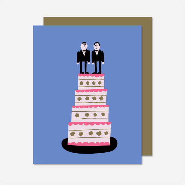 Marriage Cake Men Card
