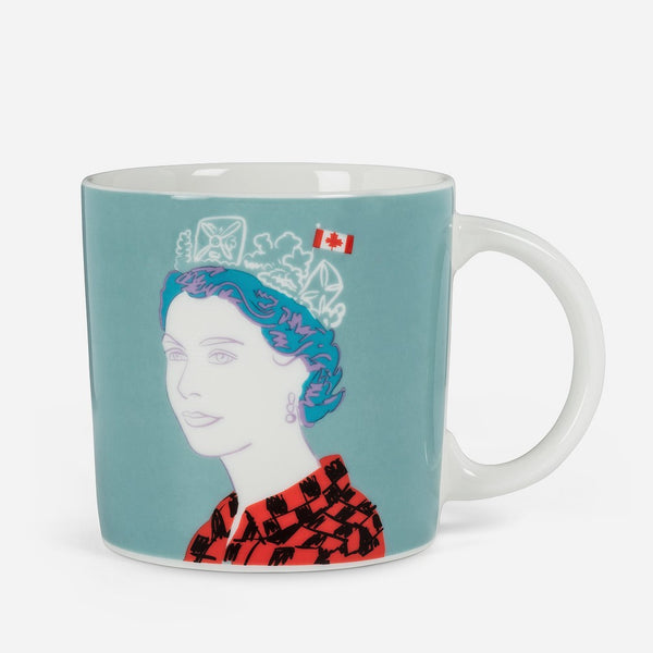 Queen in Buffalo Check Mug