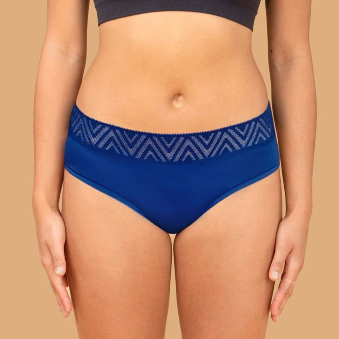 Thinx Hiphugger New Lace - Ocean