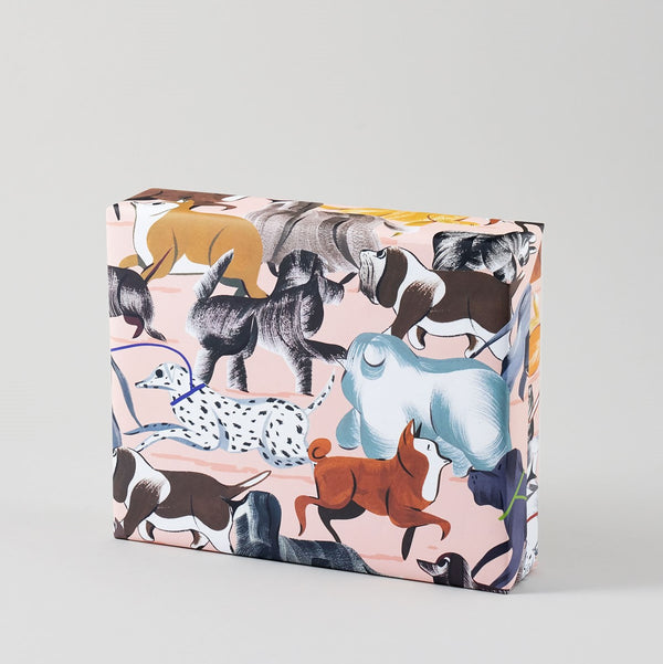 City Dogs Wrapping Paper