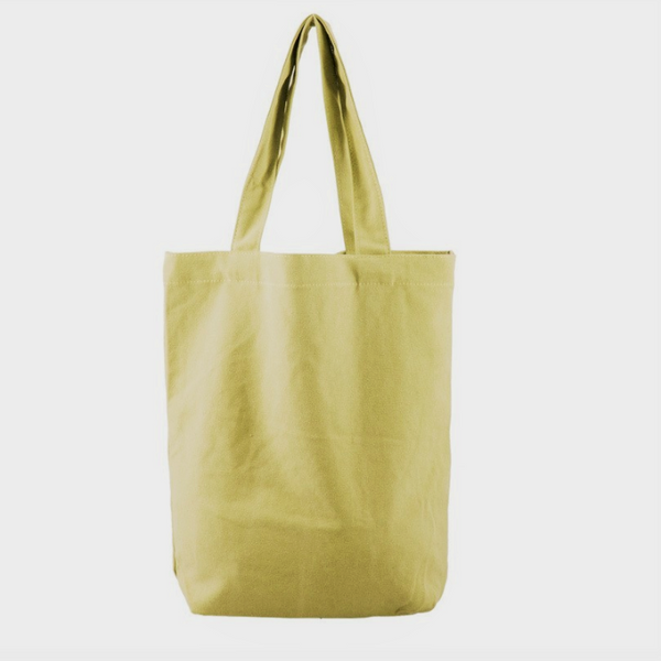 Yellow Canvas Tote