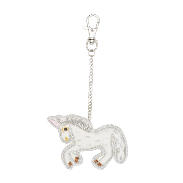 Embroidered Keychain - Unicorn