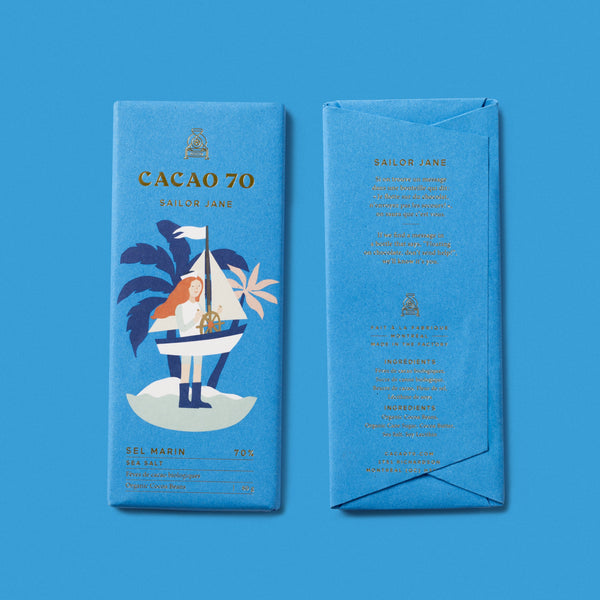 Sailor Jane Sea Salt Chocolate Bar