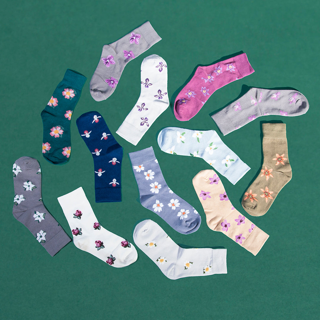 Provincial Flower Sock Pack