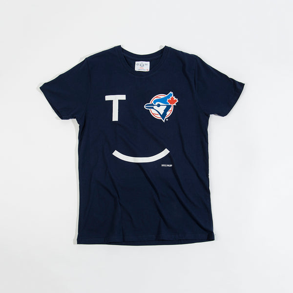 Toronto Smiley Blue Jays Tee