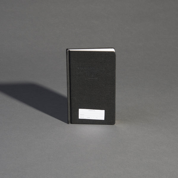 Standard Issue Planner Notebook No.07 - Black