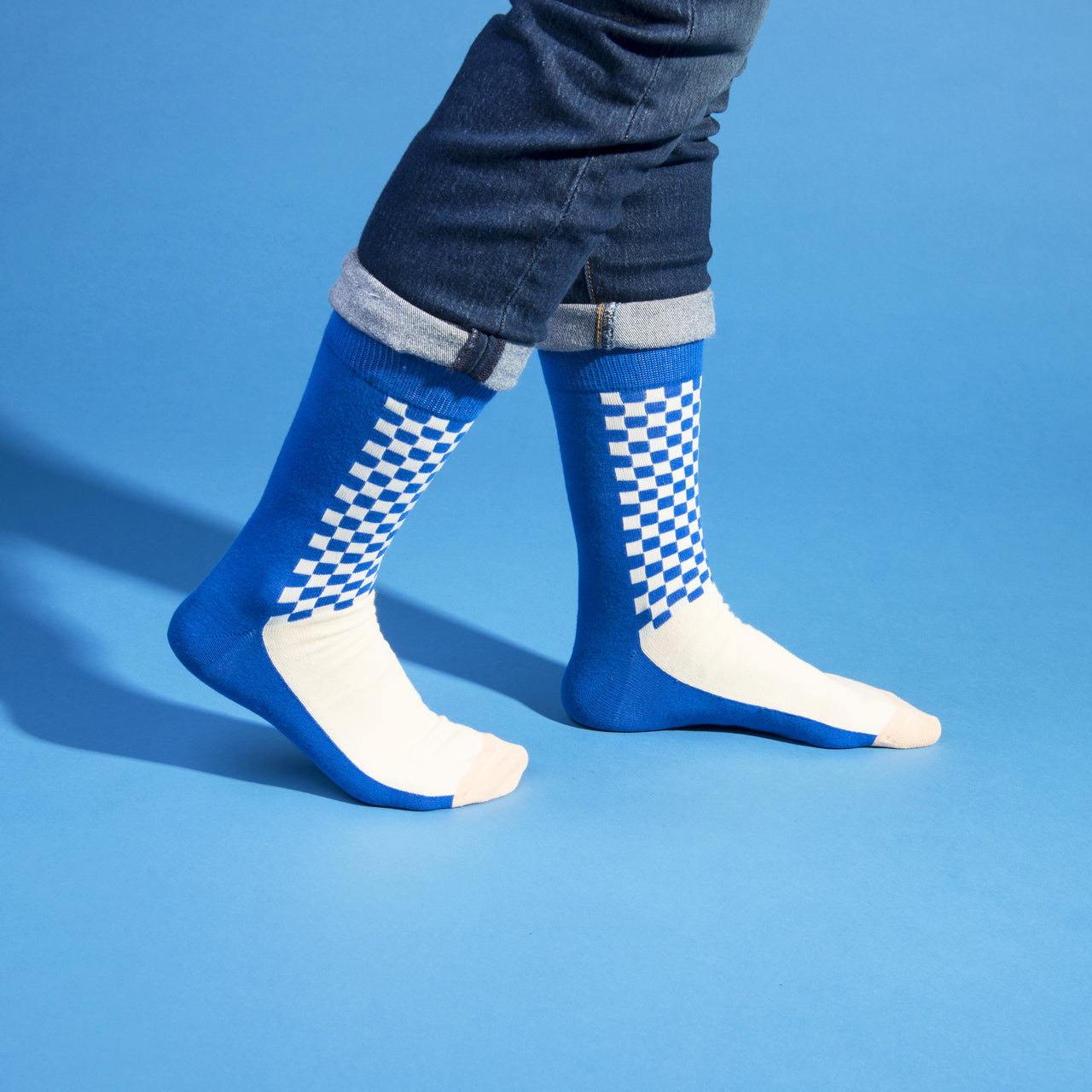 Weekday Socks - Checkerboard