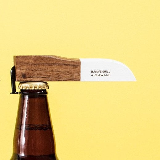 Bent-Nail Bottle Opener - White Dip