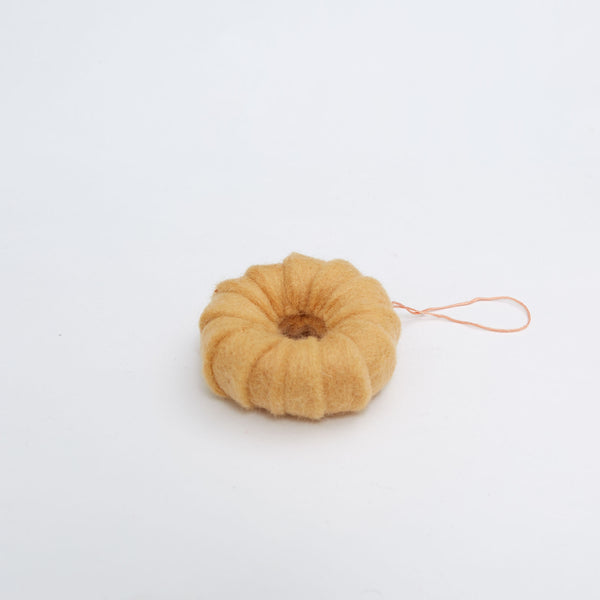 Felt Ornament - Honey Cruller