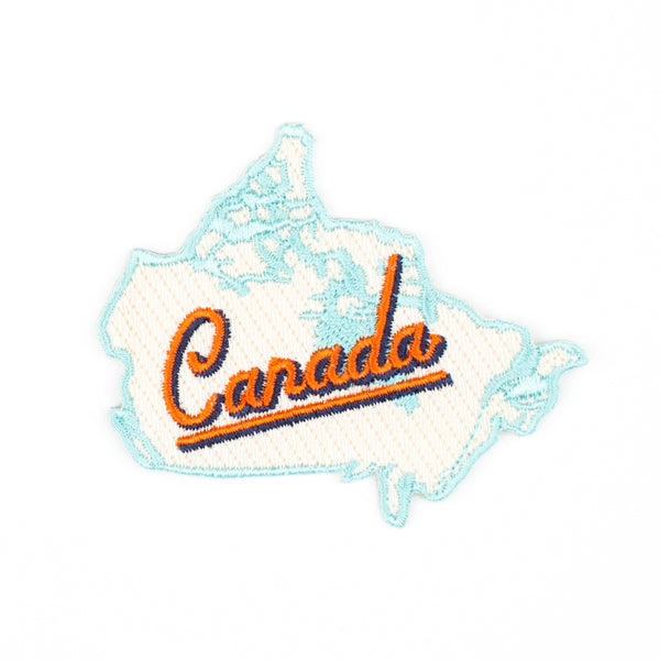 Iron on Patch - Canada Map
